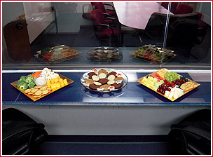Services catered food